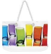 Glasses-rainbow Theme Weekender Tote Bag