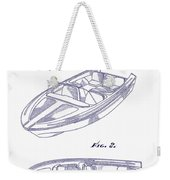 Glasspar 1960 California Boat Weekender Tote Bag