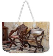 Glastonbury Chairs Weekender Tote Bag