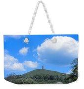 Glastonbury Tor Weekender Tote Bag