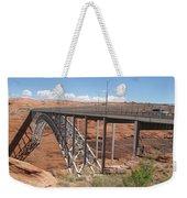 Glen Canyon Bridge Weekender Tote Bag