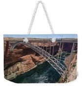 Glen Canyon Dam Bridge Weekender Tote Bag
