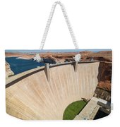 Glen Canyon Dam Weekender Tote Bag
