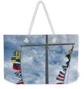 Glen Cove American Flag Weekender Tote Bag