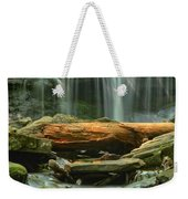 Glen Leigh River Rocks And Falls Weekender Tote Bag