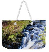 Glenbrittle Waterfall Weekender Tote Bag