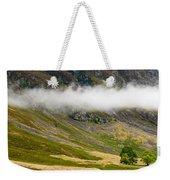 Misty Mountain Landscape Weekender Tote Bag