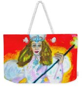 Glenda The Good Witch Of Oz Weekender Tote Bag