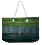 Gliding Across The Water Weekender Tote Bag