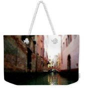Gliding Along The Canal  Weekender Tote Bag