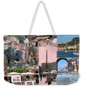 Glimpses Of Italy Weekender Tote Bag
