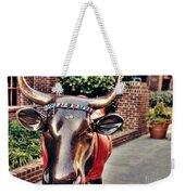 Glitter Bull Weekender Tote Bag by Emily Kay