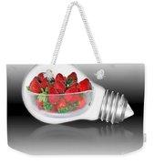 Global Strawberries Weekender Tote Bag