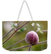 Globe Flower Bud Before The Bloom Weekender Tote Bag