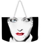 Gloria Swanson - Edith Piaf Weekender Tote Bag