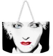 Gloria Swanson - Marlene Dietrich Weekender Tote Bag