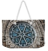 Glorious Church Stained Glass Weekender Tote Bag