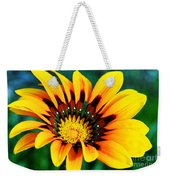 Glorious Day Yellow Flower By Diana Sainz Weekender Tote Bag