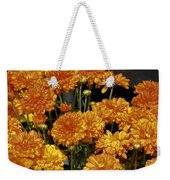 Glorious Golden Mums Weekender Tote Bag
