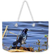 Glorious Grackle Weekender Tote Bag