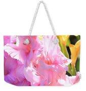 Glorious Summer Gladiolus Weekender Tote Bag