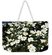 Glorious White Roses Db Weekender Tote Bag