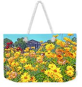 Glorious Yellow And The Franklin Weekender Tote Bag