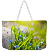 Scilla Siberica Flowerets Named Wood Squill  Weekender Tote Bag
