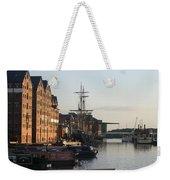 Gloucester Docks 1 Weekender Tote Bag