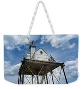 Gloucester Harbor Beacon Station Weekender Tote Bag