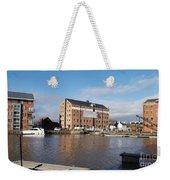 Gloucester Historic Docks 3 Weekender Tote Bag