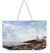 Gloucester Lighthouse Weekender Tote Bag