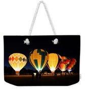 Glow At Night Weekender Tote Bag
