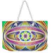Glow Sphere Delta Weekender Tote Bag