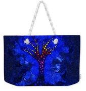 Glow Tree Blue Weekender Tote Bag