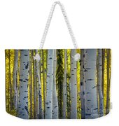 Glowing Aspens Weekender Tote Bag