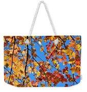 Glowing Autumn Weekender Tote Bag