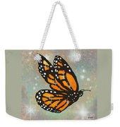 Glowing Butterfly Weekender Tote Bag