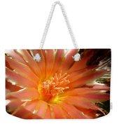 Glowing Cactus Flower Weekender Tote Bag