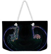 Glowing Choo Choo In Lights Abstract  Weekender Tote Bag