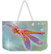 Glowing Dragonfly Weekender Tote Bag