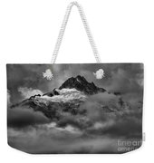 Glowing Glaciers In The Tantalus Range Weekender Tote Bag