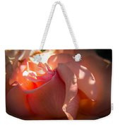 Glowing Heart Weekender Tote Bag