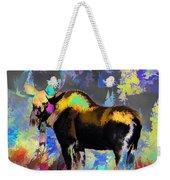 Electric Moose Weekender Tote Bag