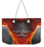 Glowing Muscle Boy Weekender Tote Bag