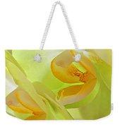 Glowing Orchid - Lemon And Lime Weekender Tote Bag
