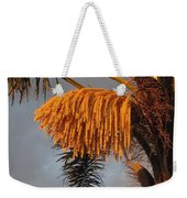 Glowing Palm Blossoms Weekender Tote Bag