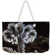 Glowing Palm Weekender Tote Bag