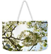 Glowing Petals Weekender Tote Bag