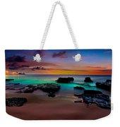Glowing Sandy Weekender Tote Bag